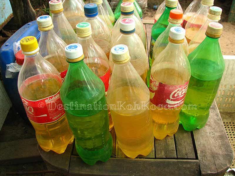 Gasoline at Captain Shop (Koh Kood, Thailand)