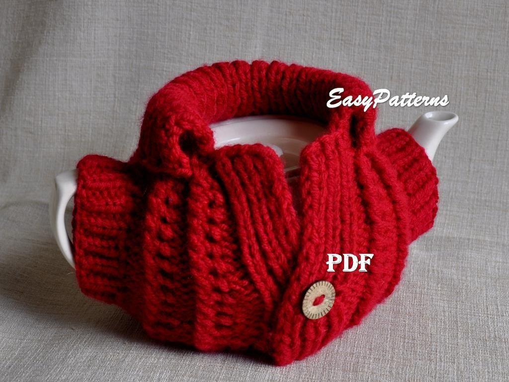Xmas Tea Cosy easy knitted Pattern   Cosy, Xmas and Teas