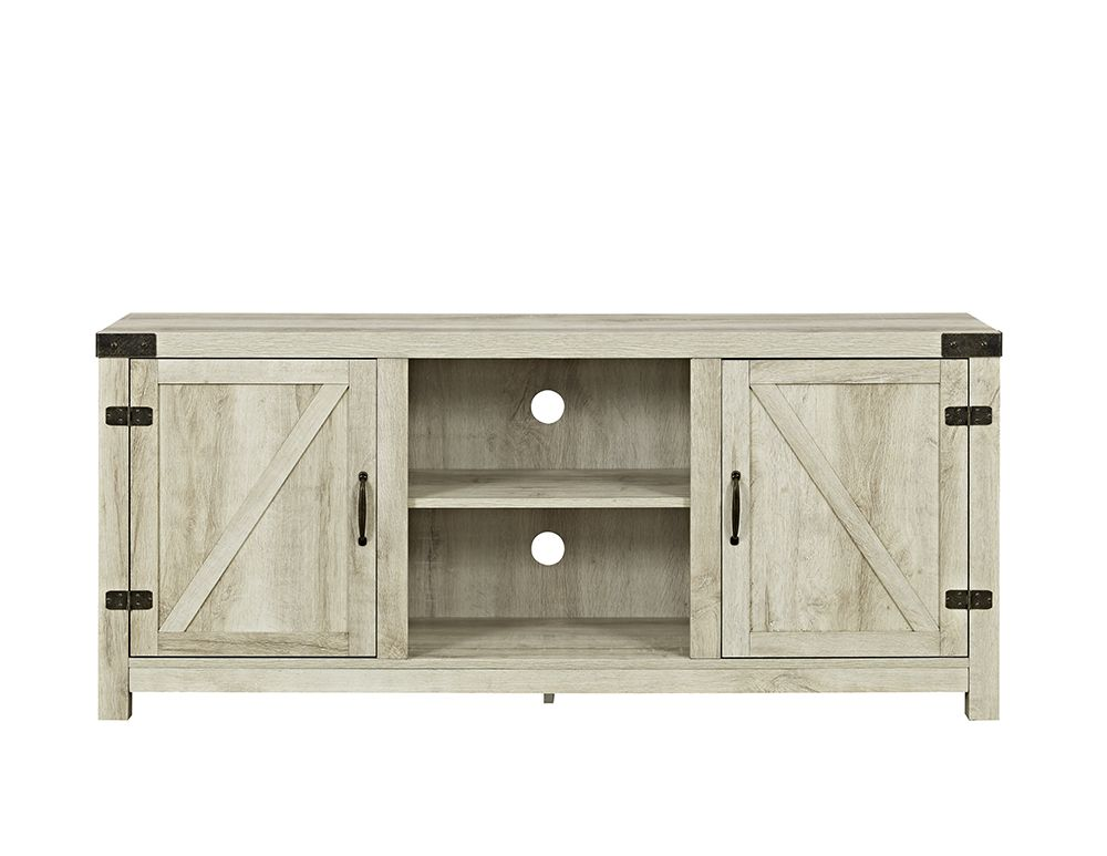 34+ White oak barn door tv stand info