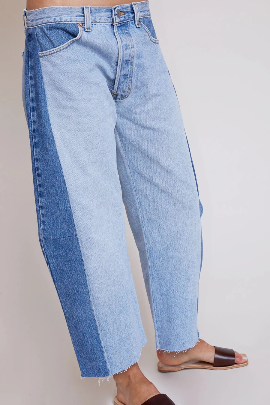 B Sides Aux Regular Lasso Jean In Isaac Wash Short Outfits Denim Fashion
