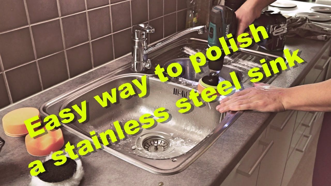 Easy Way To Polish And Remove Scratches From A Stainless Steel