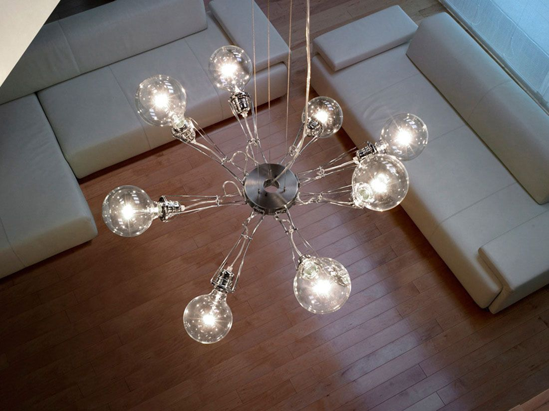 Matrix Otto is a very modern suspension light based on the