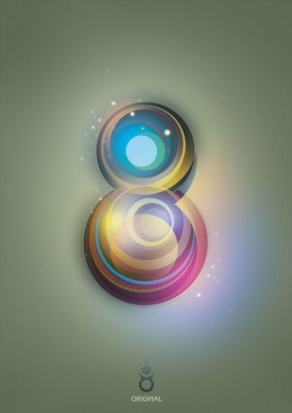 8 by Ankhbayar Byambasuren, via Behance