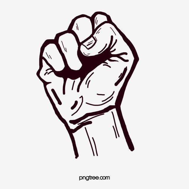 قبضة اليد القبضة الفنية قبضة اليد لفتة Png وملف Psd للتحميل مجانا Cartoon Fist Hand Fist Hand Clipart