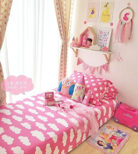 14+ Beautiful Girls Bedroom Ideas for Small Rooms (Teenage Bedroom