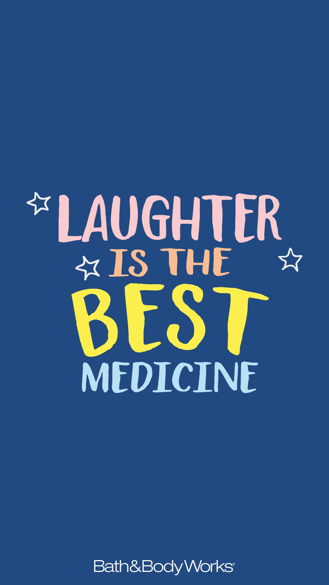 Laughter Is The Best Medicine Cell Phone Wallpaper Background