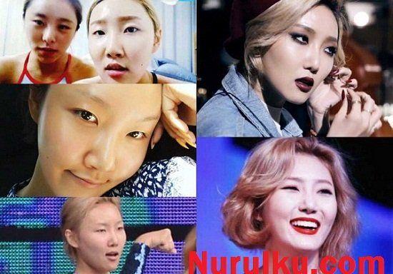 30 artis korea paling jelek saat tampil tanpa make up rh pinterest ph