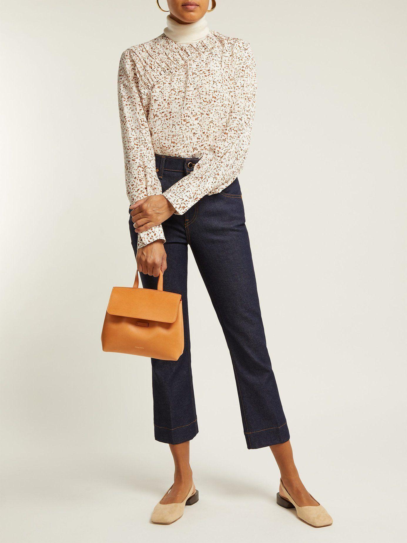 f3b306d2da4 Mini Mini Lady leather cross-body bag   Mansur Gavriel ...