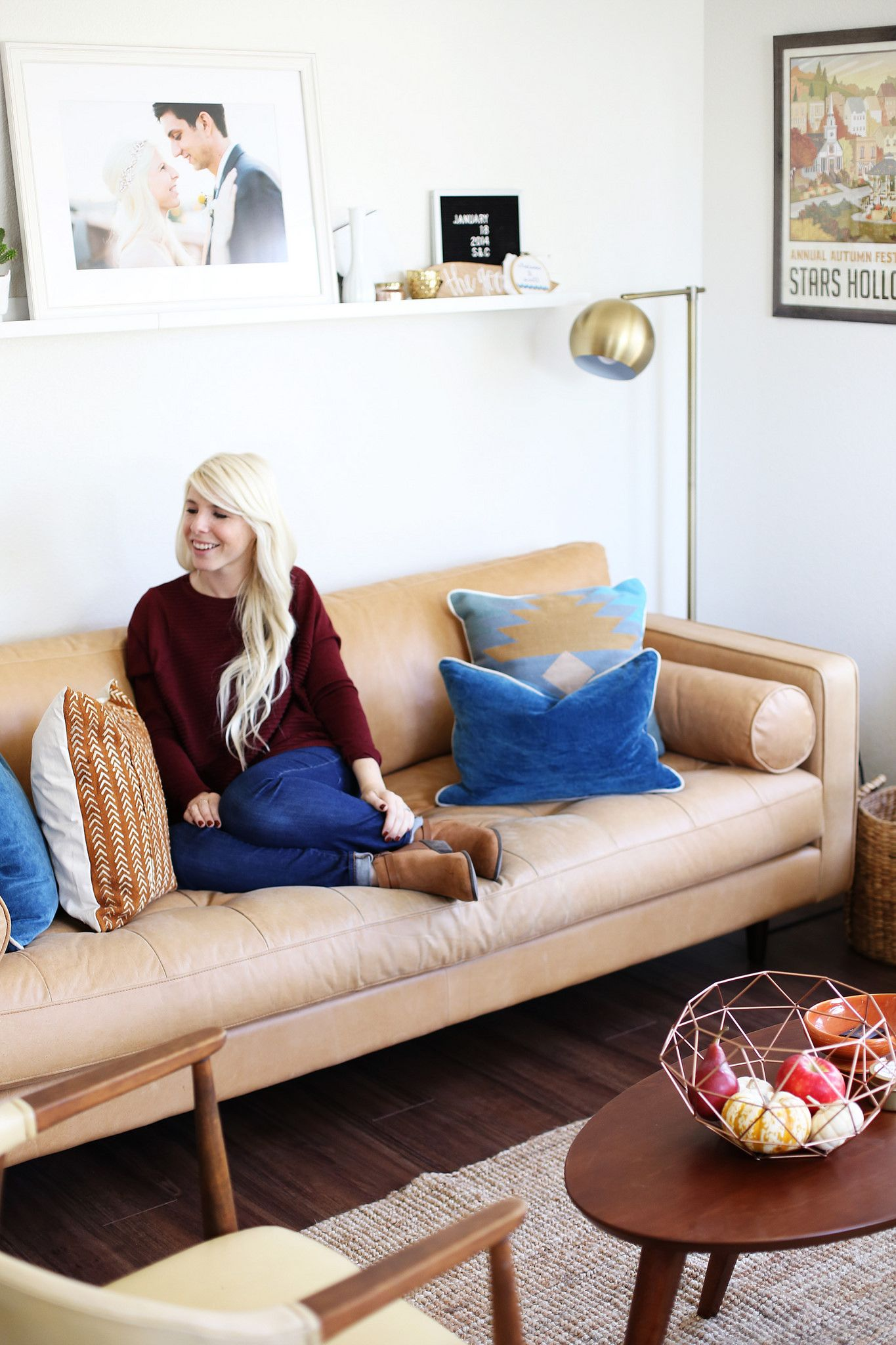Living Spaces Fall Refresh -- While we've been calling this tiny ...