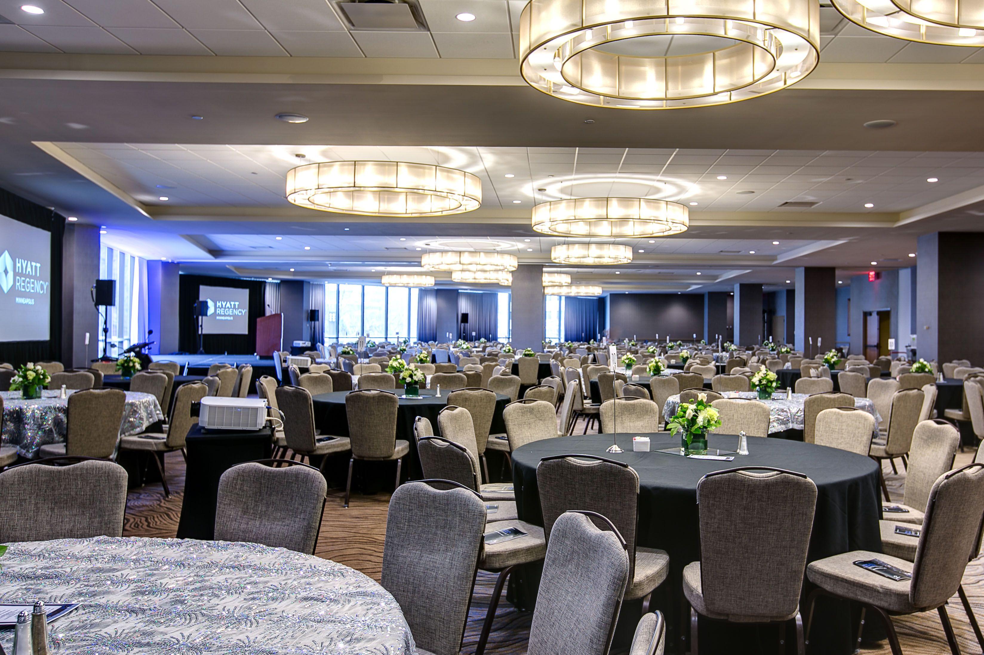wedding reception restaurants mn%0A Northstar Ballroom at the Hyatt Regency Minneapolis