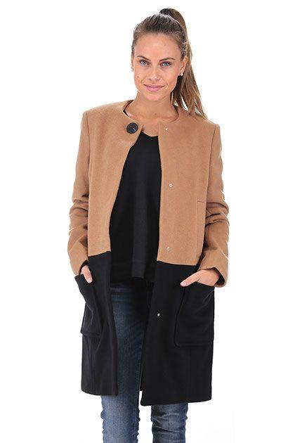 TWIN-SET SIMONA BARBIERI - Cappotti - Abbigliamento - Cappotto a 3 4 ... 6dd39a920cfc