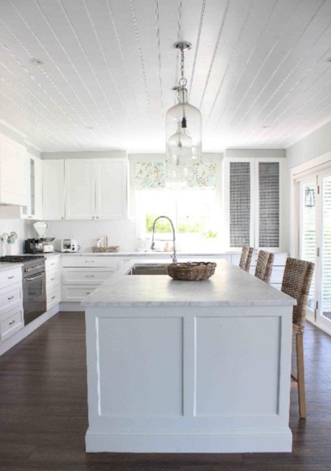 inspiring 30 beautiful hamptons kitchen interior design for stylish rh in pinterest com