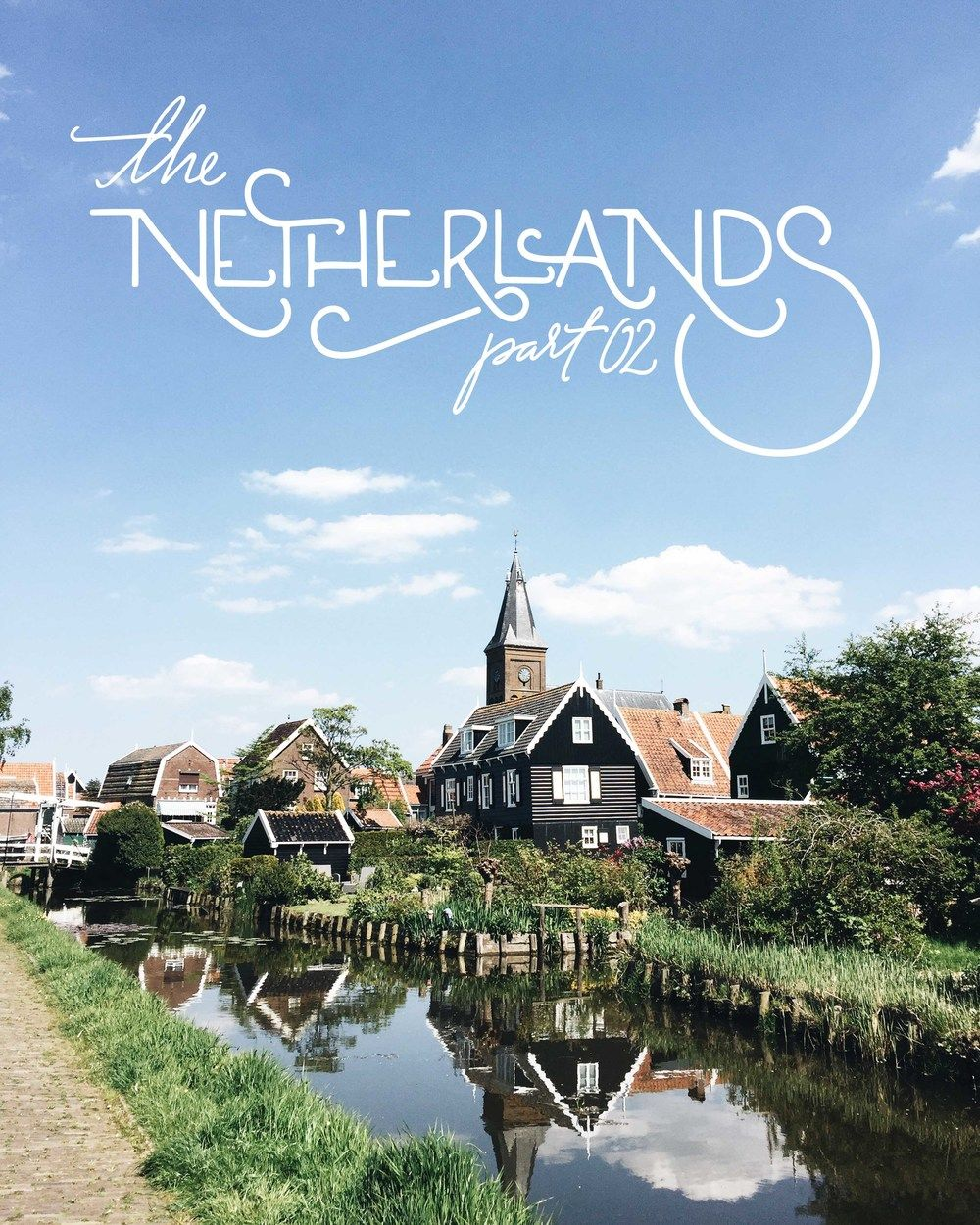 The peninsula of North Holland jutting north