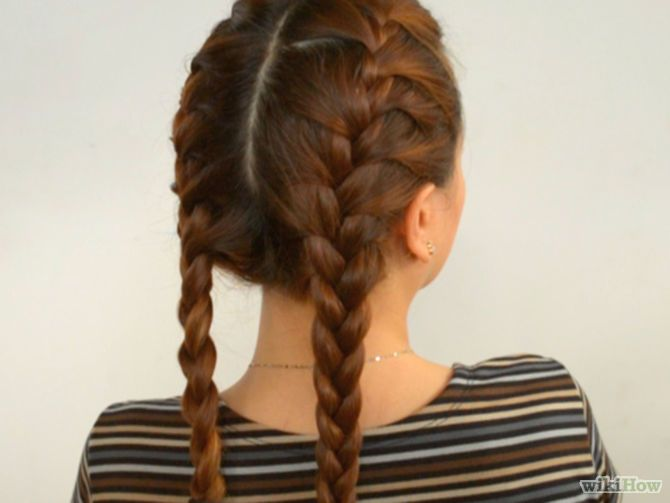 Do Double French Braids