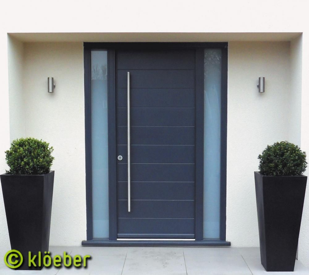 Contemporary wood front doors - Commercial Door Ladder Pull Handle 70 Inch Long Brushed Stainless Steel Entry