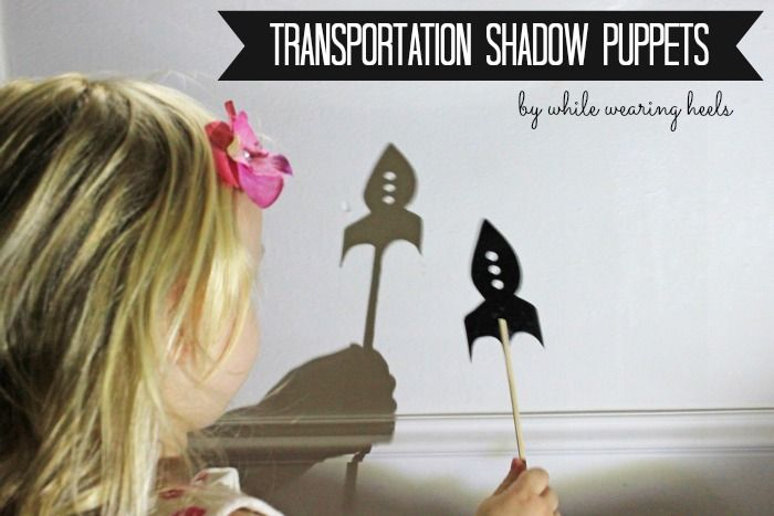 While Wearing Heels: Shadow Puppets