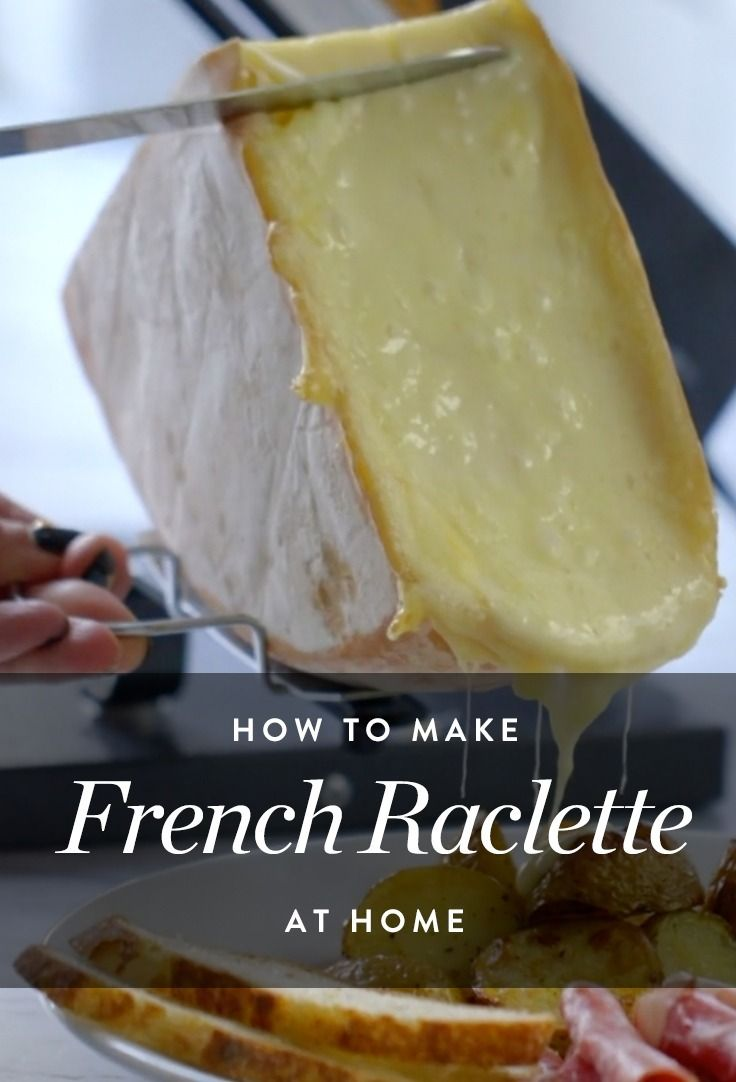 how to make raclette without a machine