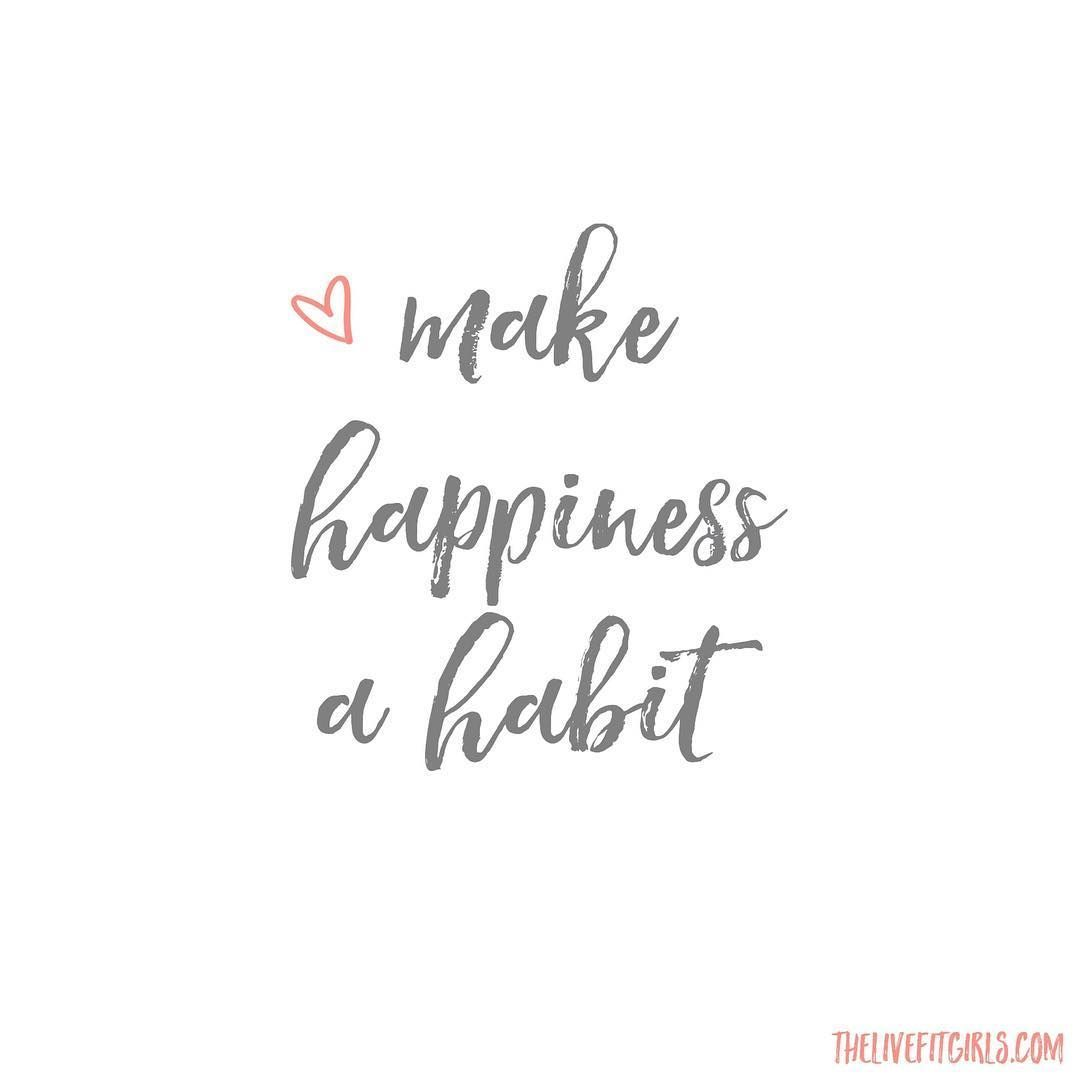 New Day New Habit A Few Days Ago I Asked Myhellip Positive Quotes New Day Quotes Happy Quotes