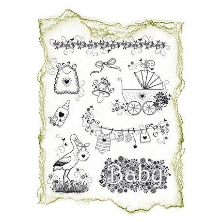 Planche de tampon clear naissance naissance et b b pinterest d coration naissance dessin - Naissance dessin ...