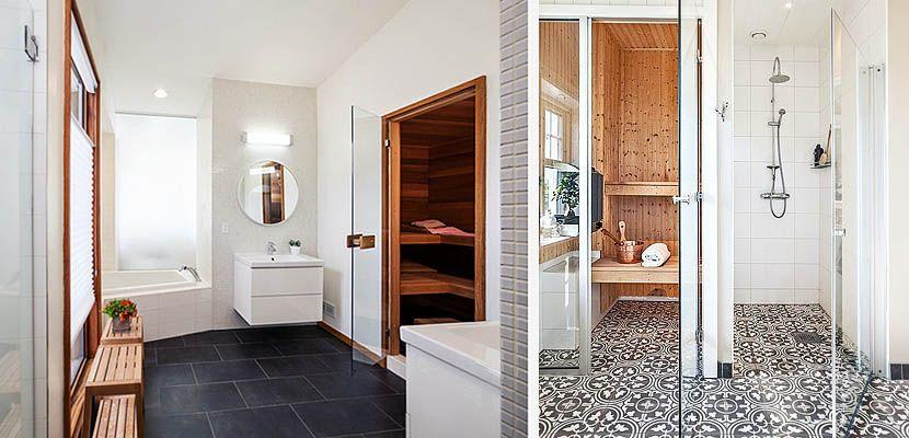 Propuestas para instalar una sauna en el cuarto de baño ...