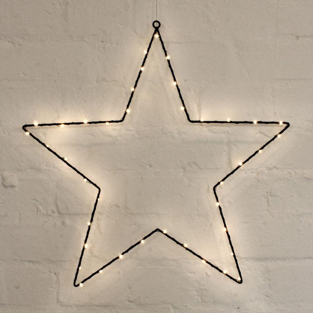 NEW Indoor Outdoor Wire Star Light | Indoor outdoor, Star and Lights