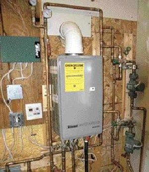 Heating A Home With A Tankless Water Heater Water Heater Radiant Floor Heating Tankless Water Heater