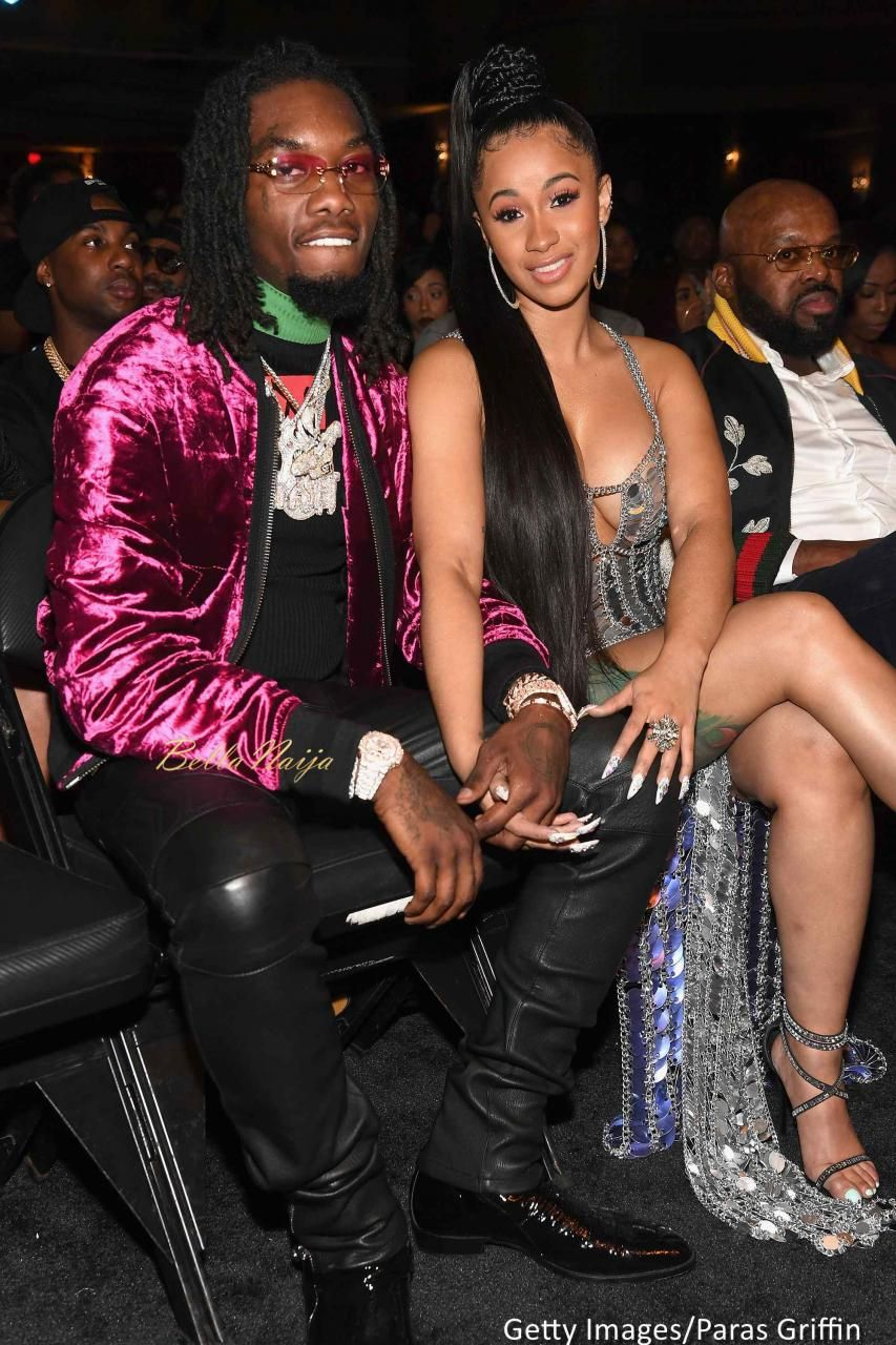 Offset & Cardi B Rap Group Migos' Member Offset Liked It A