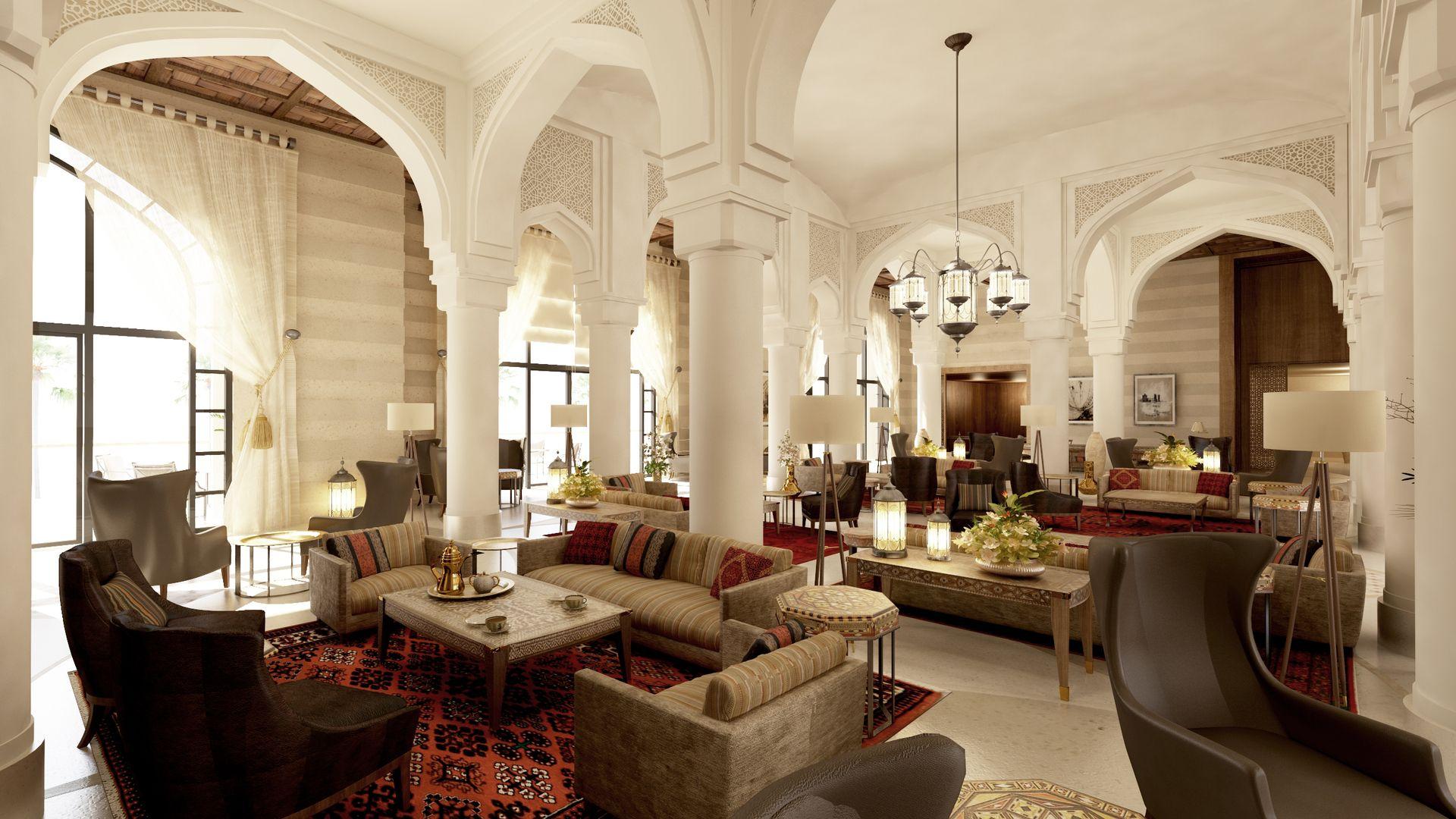 Hotel Interior Design Dubai luxury hotels