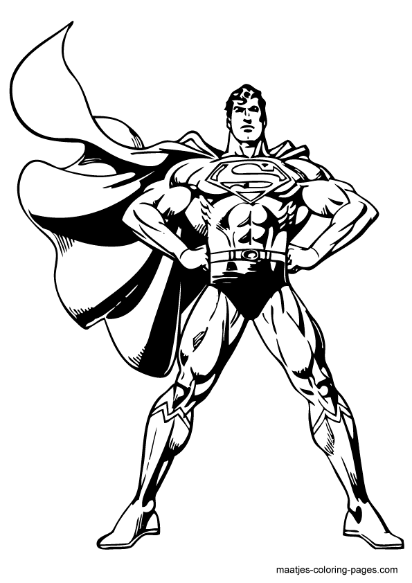 superman | coloring pages/lineart dc comics | pinterest | kids ... - Printable Superman Coloring Pages