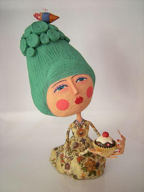 Cake?  Carol W. - Brazilian artist