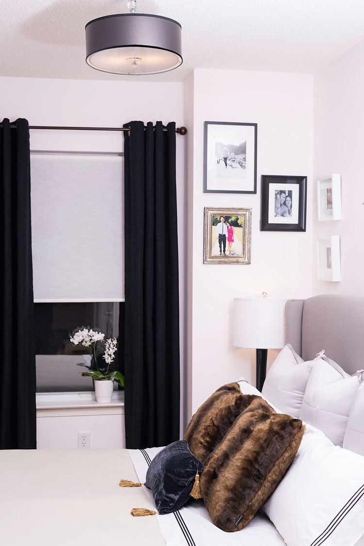 The Luxe Lifestyle Master Bedroom Reveal: The Reveal! Chic Master Bedroom