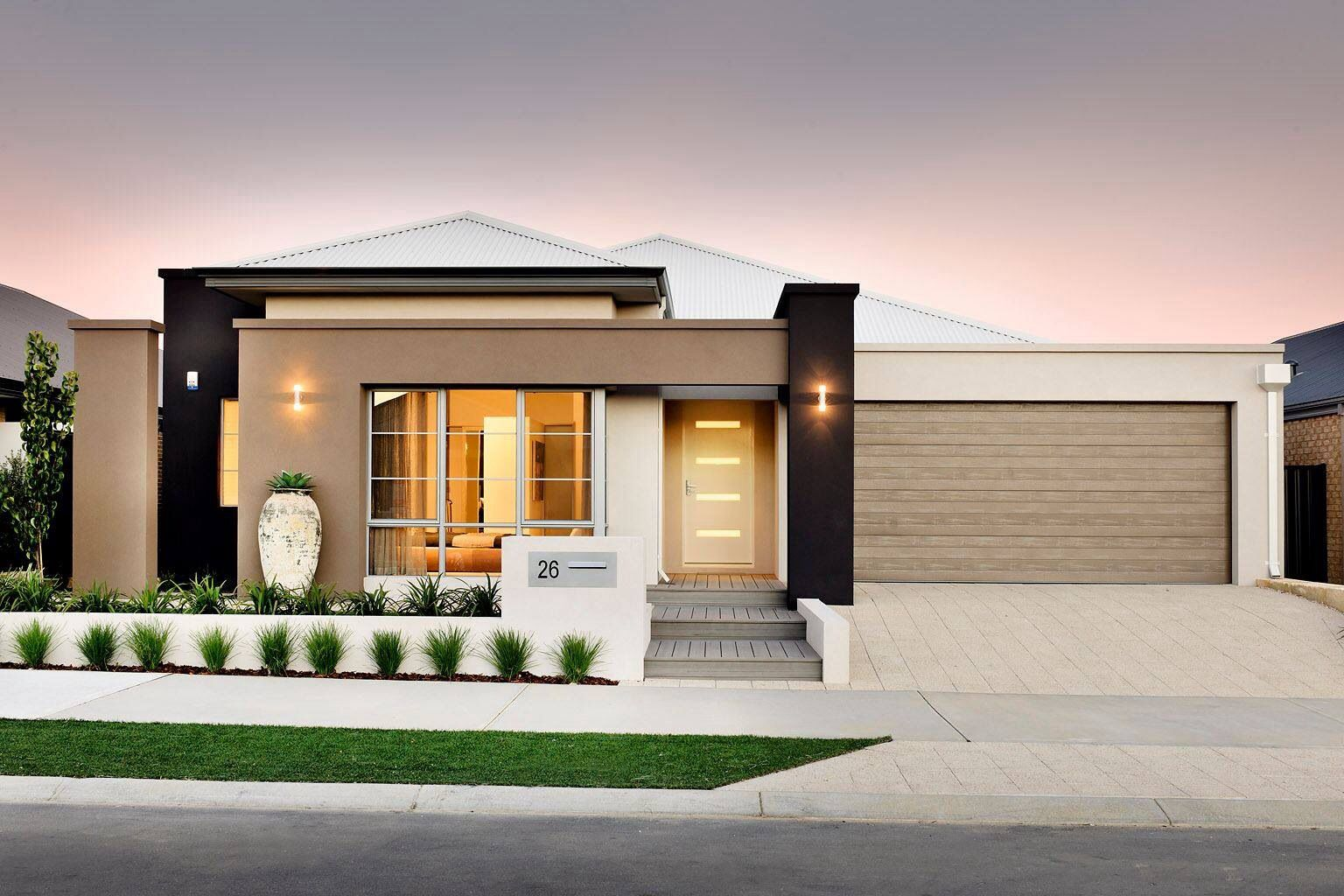 Bungalow House Plans One Level With Open Floor Modern Contemporary European Minimalist Style Beautiful House Plans Bungalow House Design Modern Bungalow House