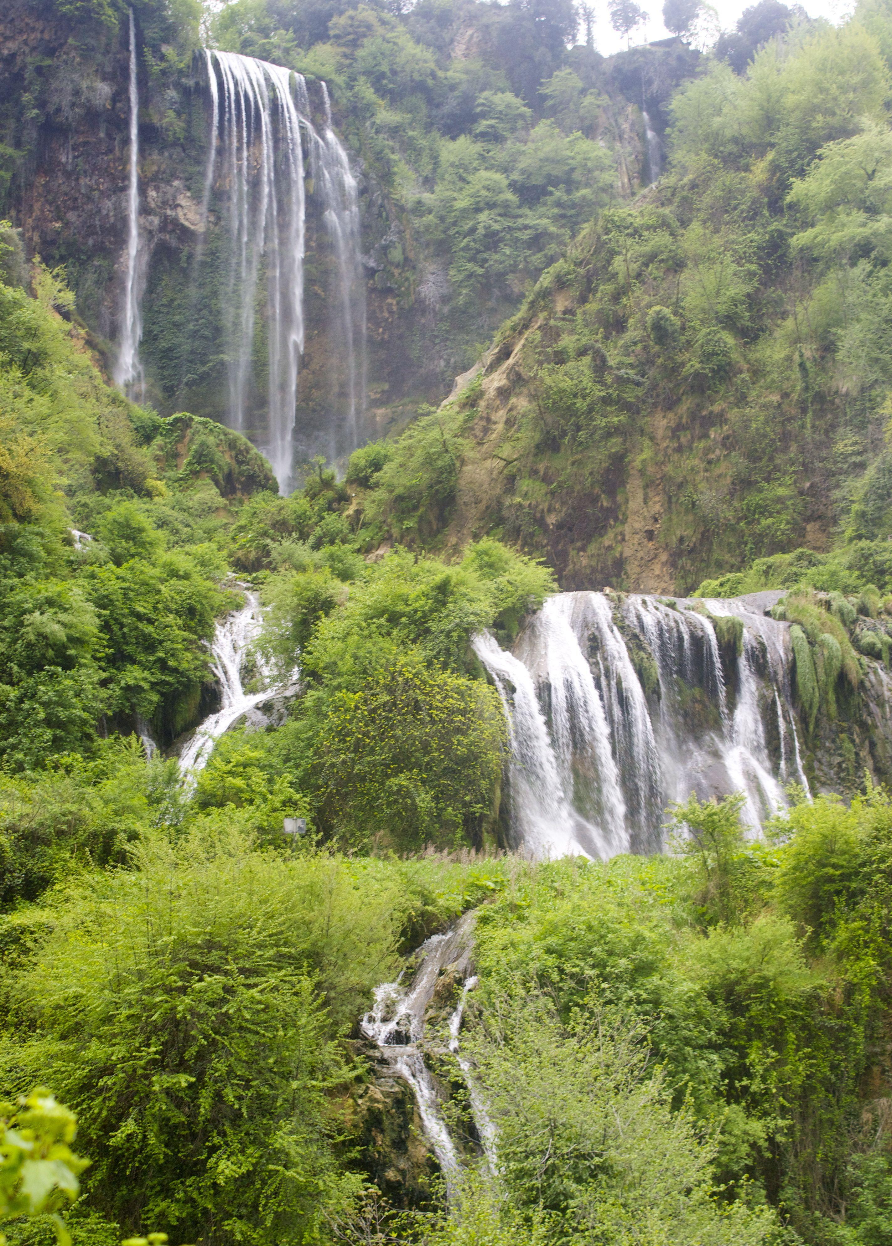 Marmore S Falls World S Tallest Man Made Waterfalls Waterfall