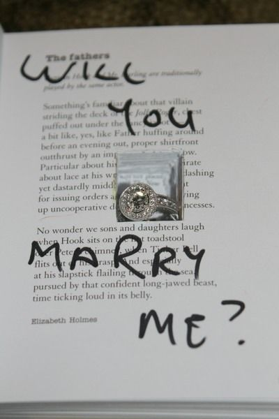 Marriage Proposal idea