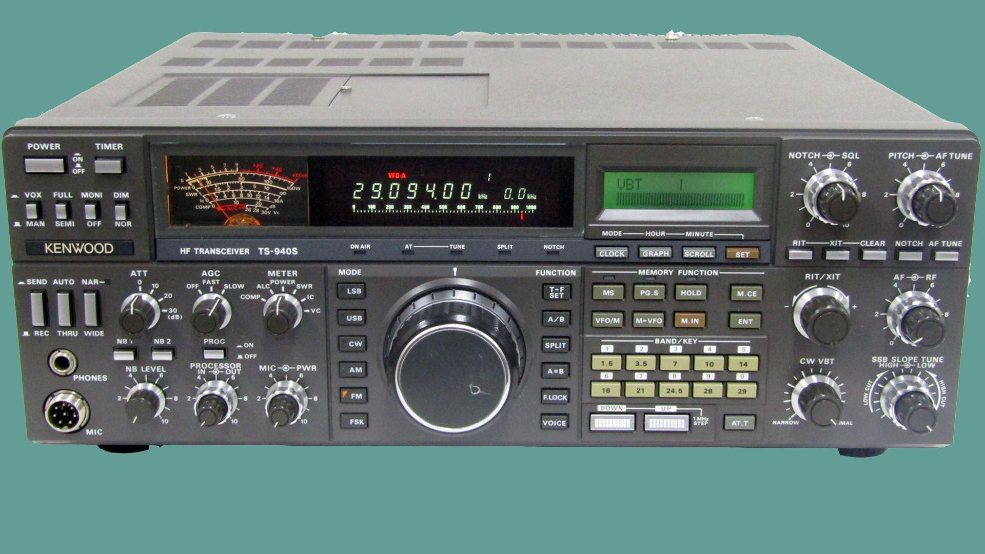 Kenwood TS-940S | Kenwood Radios | Kenwood radio, Ham radio, Ham