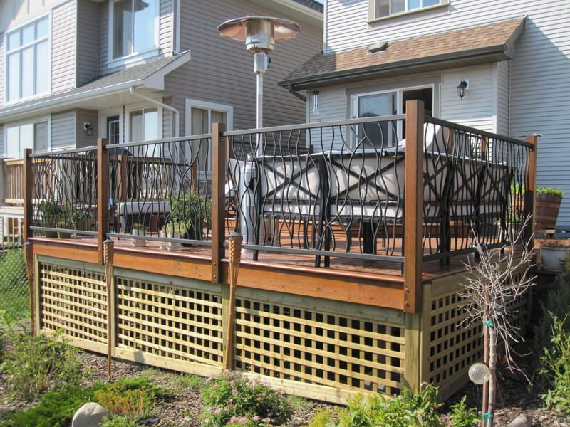 Porch Railing Design Pictures Wrought Iron Deck Railing In A