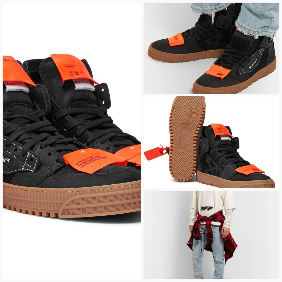 3 0 Off Court Nubuck And Suede Sneakers True Jeans Shoes