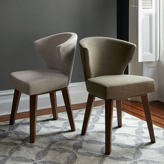 The Gaston Upholstered Chair Channels Clean Lines And Tailored Elegance Of Danish Modern Design