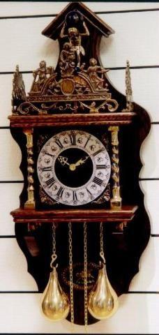 Dutch Zaandam Clock Clock Antique Clocks Grandfather Clock