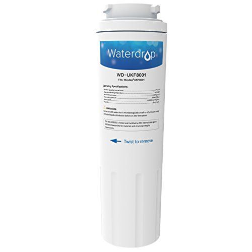 Waterdrop Refrigerator Water Filter Replacement For Maytag Ukf8001