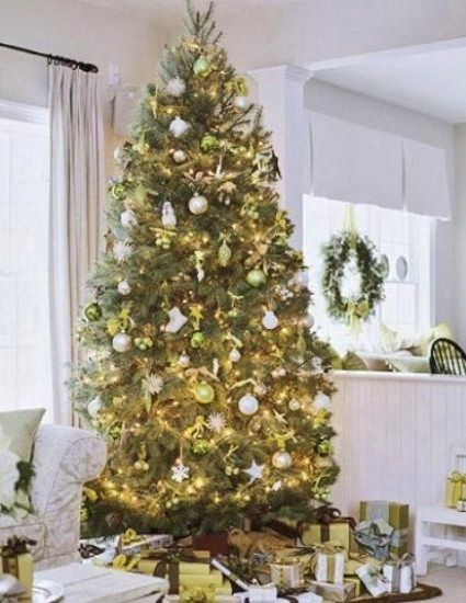 Classic Chic Home 20 Beautifully Decorated Christmas Trees Good - how to decorate a small christmas tree