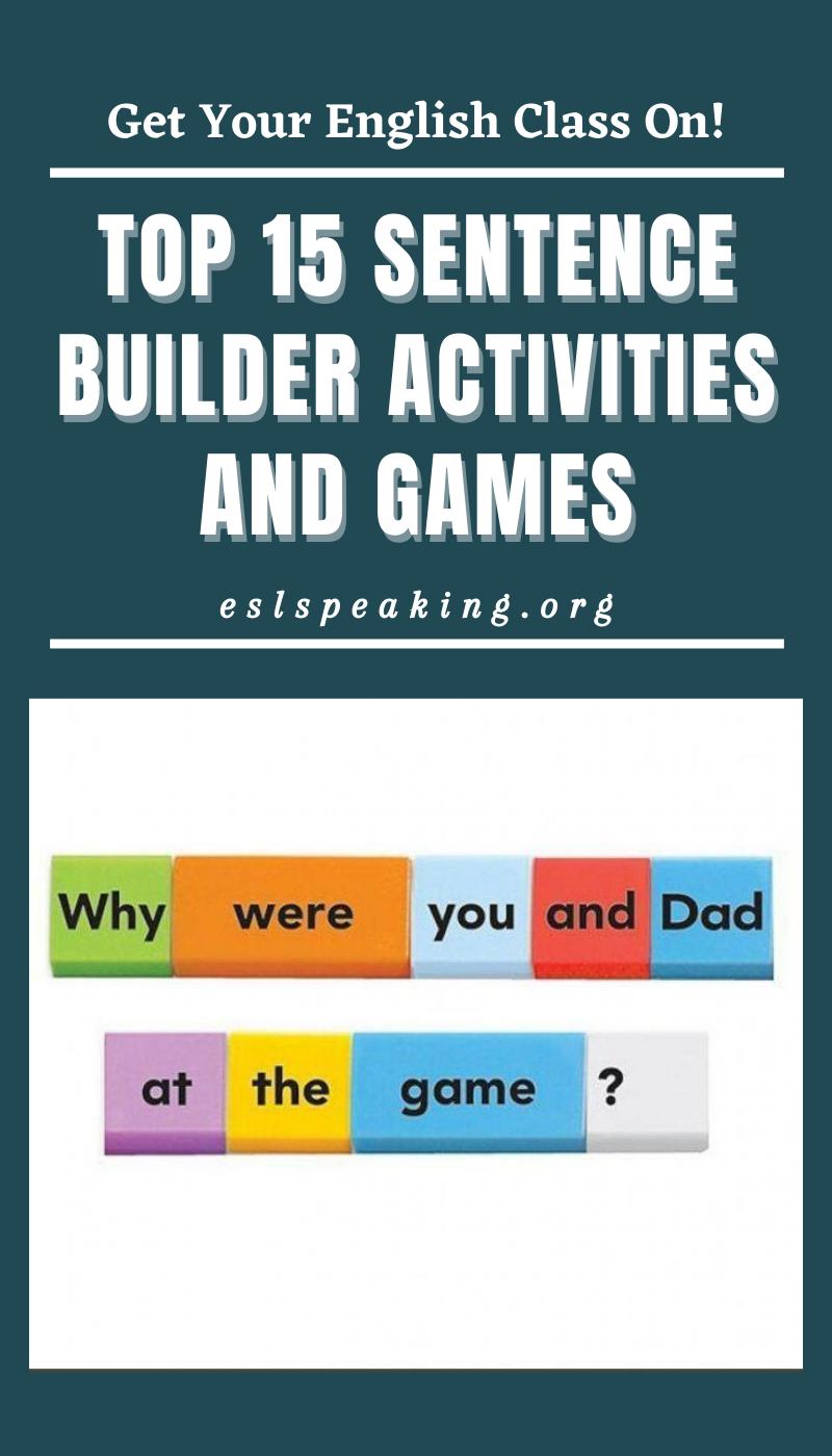 Top 15 Sentence Builder Activities And Games Sentence Structure Activities Sentence Building Activities Sentence Builder [ 1400 x 800 Pixel ]
