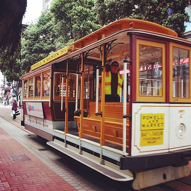 We Had So Much Fun Driving With A Cable Car In San Francisco