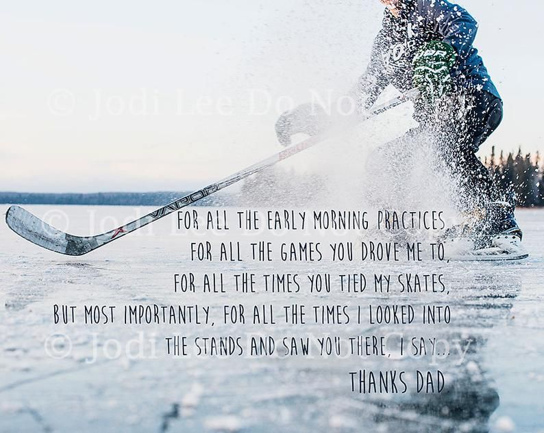 Thanks Dad Father's Day Greeting Card Hockey Dad | Etsy in 2021 | Hockey dad, Hockey quotes, Father's day greetings