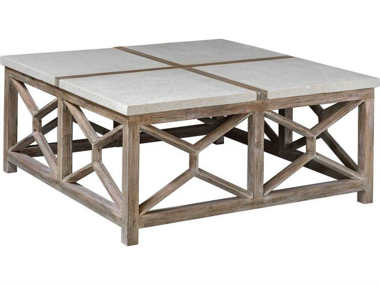 Uttermost Catali 40 Wide Square Coffee Table Geometric Coffee Table Coffee Table Square