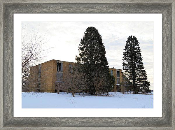 Popejoy School Framed Print by Bonfire #Photography