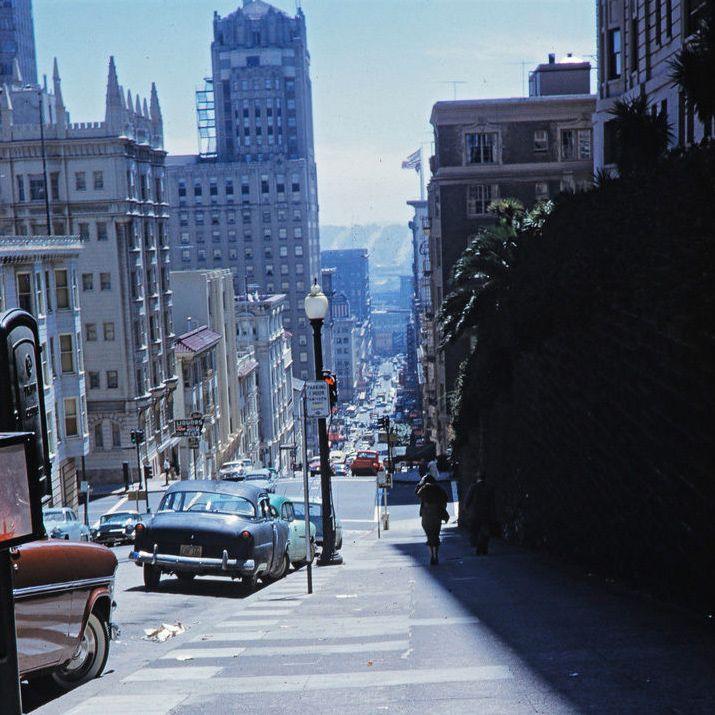 Kodachrome San Francisco 1958 San Francisco Francisco San Francisco California