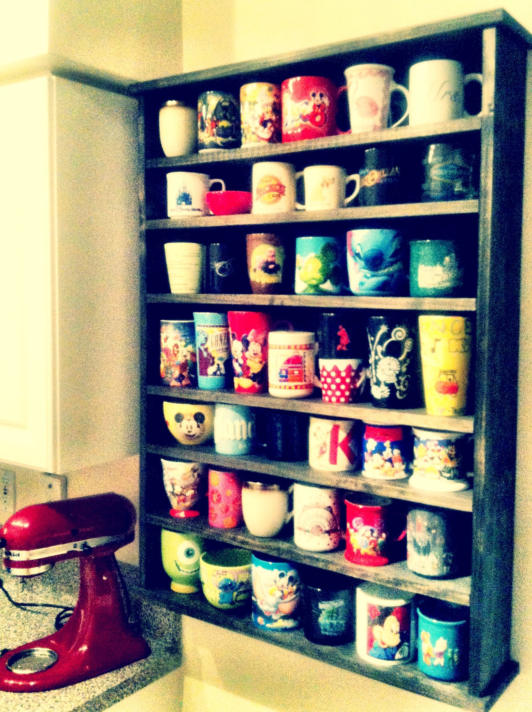 Pin By Giselle On Kitchen Disney Home Decor Coffee Mug Display Disney Kitchen