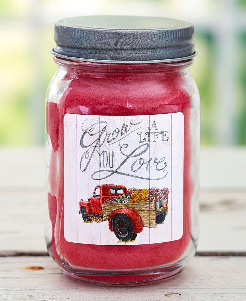 Farm fresh mason jar candles candle jars mason jars