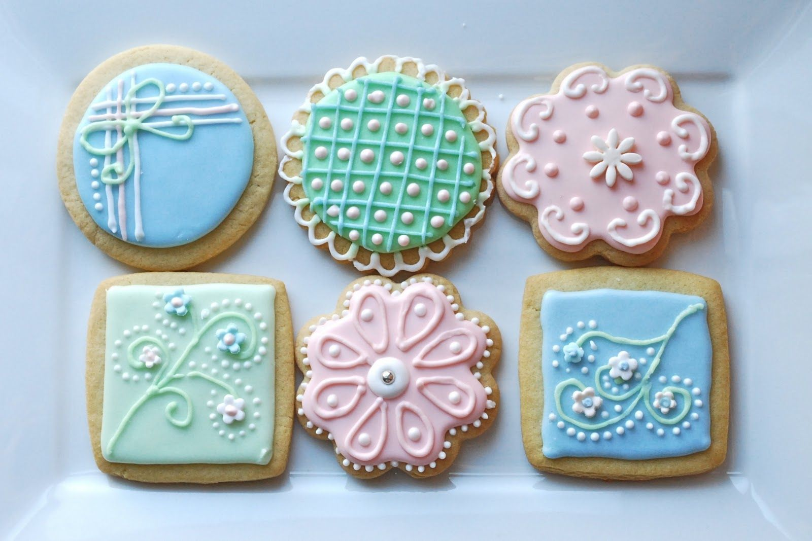 decorated sugar cookies - Google Search | Cookie decorating ...